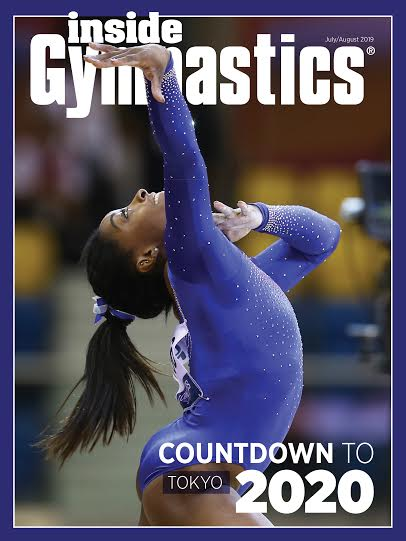 Inside Gymnastics - Cover
